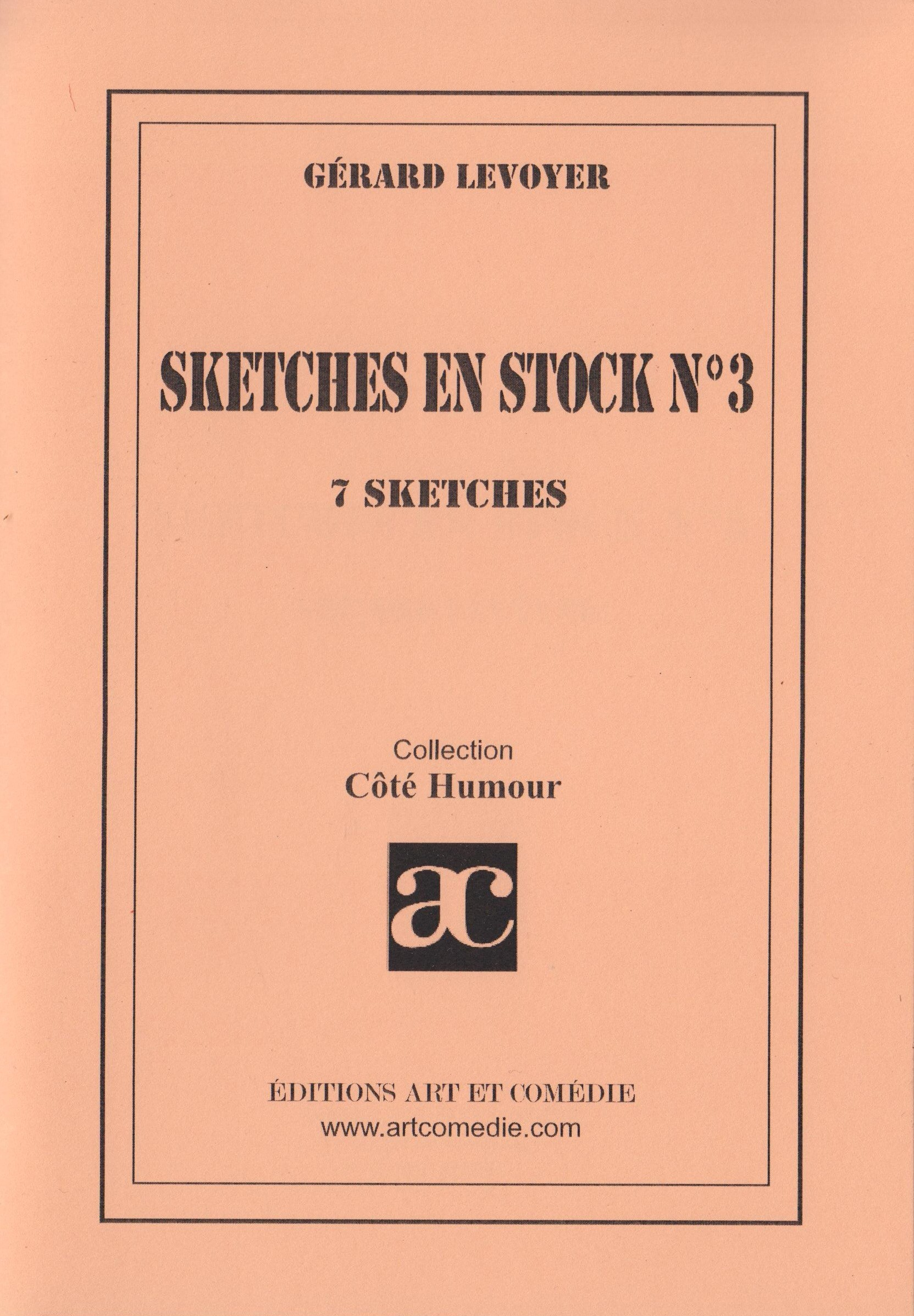 Sketches en stock n°3