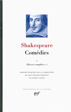 Shakespeare Comédies, Oeuvres complètes, tome V