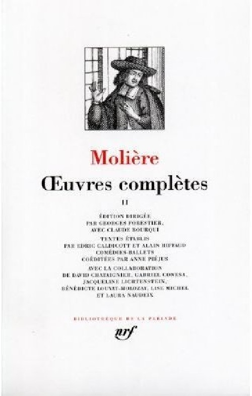 Molière - Oeuvres complètes II